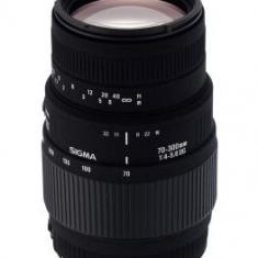 Obiectiv DSLR - Pachet Sigma 70-300mm F4-5.6 Macro DG Motor-Canon + Kata KT A22N geanta foto