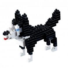Caine - Husky. Set Constructie 3D Micro Cub - 200.068