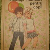Tricotaje manuale pentru copii -Valentina Osan