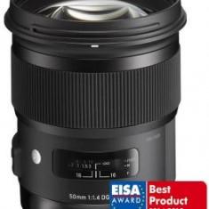 Obiectiv DSLR - Sigma 50mm f/1.4 DG HSM Art, obiectiv foto Canon