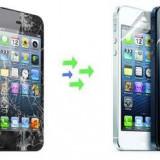 Gevey SIM - Inlocuire Geam Sticla iPhone 5 Alb