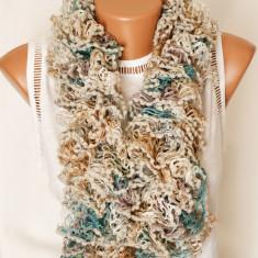 Fular acrilic stil boa - Fular Dama, Culoare: Din imagine