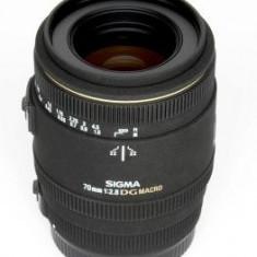 Obiectiv DSLR - Pachet Sigma 70mm f/2.8 EX Macro DG, obiectiv foto Canon + Kata GP 80 rucsac foto