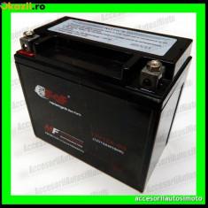 Acumulatori Moto - BATERIE MOTO 12Ah 12V cu Borna Inversa 12A BATERIE 12 Ah 12 Amperi