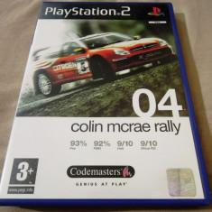 Joc Colin Mcrae Rally 04 PS2, original, 29.99 lei! - Jocuri PS2 Codemasters, Curse auto-moto, 3+, Multiplayer