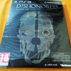Joc PS3, Dishonored Game of The Year Edition, sigilat, alte sute de jocuri! - Jocuri PS3 Bethesda Softworks, Actiune, 16+, Single player