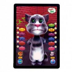 Jucarie interactiva, Altele, Unisex, Plastic - Tableta interactiva TALKING TOM 3D, Touch, Repeta Vorbeste Canta 2015, Garantie