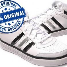 Adidasi barbati, Piele sintetica - Adidasi barbat Adidas Top Ten Mid - adidasi originali - ghete originale