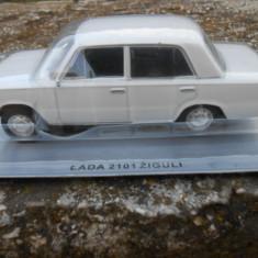 Macheta auto, 1:43 - 3540.Macheta Lada 2101 Ziguli - MASINI DE LEGENDA Polonia scara 1:43