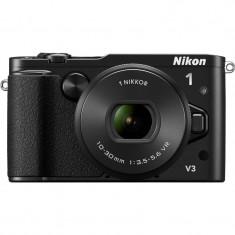 Aparat Foto compact - Aparat foto digital Nikon 1 V3 Kit 10-30mm VR PD-Zoom (black)
