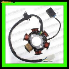 Electrica Moto - MAGNETOU 6 Bobine Lifan Stator Aprindere 6 Bobine Scuter