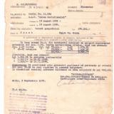 """DOCUMENTE-INSCRISURI VECHI-1956-""""SOVROMASIGURARE""""-2 BUC. DIFERITE. - Harta"""