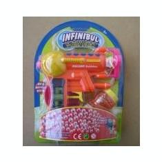 Masina de balonase - PISTOALE PENTRU BALOANE SAPUN+REZERVA SOLUTIE - MAXITOYS