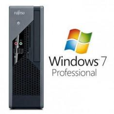 Sisteme desktop fara monitor - Calculatoare Refurbished Fujitsu ESPRIMO C5731 E7500 Windows 7 Pro