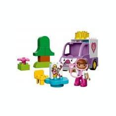 Ambulanta doctoritei Plusica LEGO DUPLO