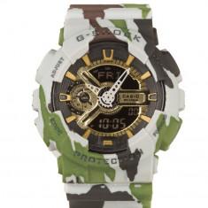Ceas barbatesc - CASIO G-SHOCK GA 110, Army Green Gold Edition !!!