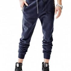 Pantaloni barbati Guess, Lungi, Bumbac - Pantalon trening GUESS Men's Roy Trim Jogger masura S M