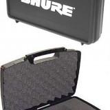 "PROMOTIE !VALIZA/CASE PROFESIONAL ""SHURE"" PT.MICROFOANE, COMPARTIMENTAT.NOU. - Microfon Shure Incorporated"