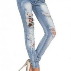 Pantaloni XXXL - Pantaloni jeans (MARIME: S)