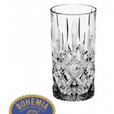 Set de 6 pahare pentru apa Sheffield - Cristal Bohemia