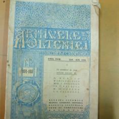 Carte veche - Arhivele Olteniei ianuarie - iunie 1939 Ramuri Craiova