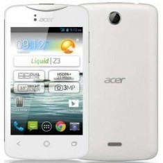 Acer Liquid Z330 DS 4G White/4.5/QC/1GB/8GB/5MP/2000 mAh - Telefon mobil Acer