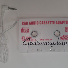 Modulator FM auto - Caseta adaptoare, mp3 player cu mufa Jack pentru Casetofon Auto