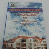 Carti Constructii - INDICATOR DE NORME DE DEVIZ PENTRU LUCRĂRI DE REPARAȚII LA INSTALAȚII SANITARE