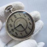 Ceas de buzunar Aur alb 14K . Tavannes . Se vinde valoare aur + 10-15% - Ceas de buzunar vechi