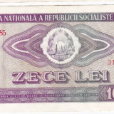 2) Bancnota 10 Lei 1966 VF, An: 1966