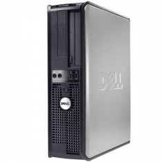 Unitate PC – Calculator DELL Optiplex 780 2.5 ghz Ddr3 – GARANTIE 1AN - Sisteme desktop fara monitor Dell, Intel Core 2 Duo, 2 GB, 100-199 GB, Linux