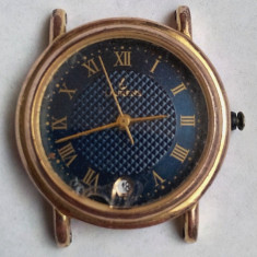 Ceas de dama Laurens placat cu aur - Ceas dama, Elegant, Mecanic-Manual, Data, Analog