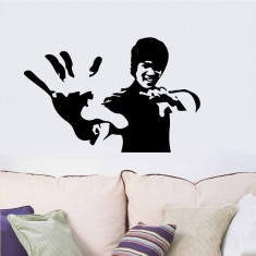 Sticker/autocolant perete Bruce Lee