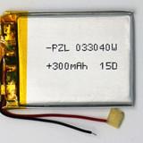 Acumulator 3.7V lithium polymer li-ion 300mAh - Arduino