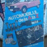 Carti auto - AUTOMOBILUL DE LA A LA Z