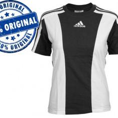 Tricou dama Adidas Teamwear - tricou original, Maneca scurta, Bumbac