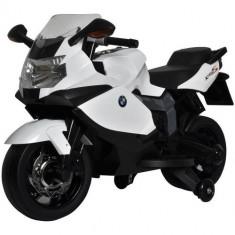 Masinuta electrica copii - Motocicleta BMW 6V Lancer Alba