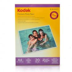 HARTIE FOTO A4 KODAK 200GSM GLOSSY INKJET 20COLI/TOP - Hartie foto imprimanta