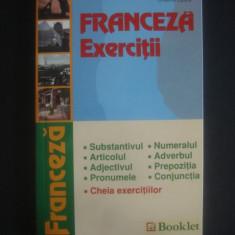MARIA NITULESCU, CRISTINA EPURE - FRANCEZA EXERCITII - Curs Limba Franceza Altele