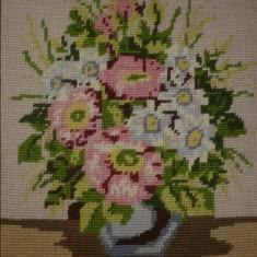 Tablou goblen Vaza cu flori - Tapiterie Goblen