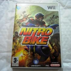 Joc Nitro Bike, Wii, original, alte sute de jocuri! - Jocuri WII Altele, Curse auto-moto, 3+, Single player
