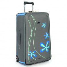 Troler LAMONZA Graffiti 74 cm albastru - Troller