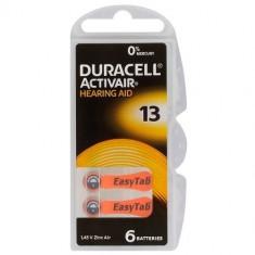 6x Duracell ActivAir 13MF Hg 0% Hearing Aid Battery BL068 - Baterie Aparat foto