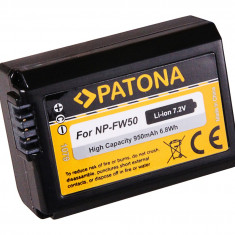 PATONA | Acumulator compatibil Sony NP-FW50 NPFW50 NP FW50 - Baterie Aparat foto