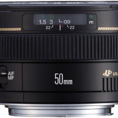 Obiectiv DSLR - Canon Obiectiv foto Canon EF 50 mm/ F1.4 USM