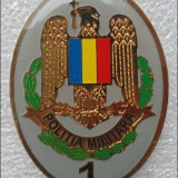 Insigna militara, specialist cls.1, politia militara