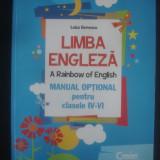 LUIZA GERVESCU - LIMBA ENGLEZA * A RAINBOW OF ENGLISH {ilustratii color}