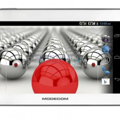 Tableta Modecom 7'', FreeTAB 7003, HD+, X2, 3G+, 4GB, alb / gri