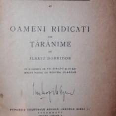Carte afaceri - OAMENI RIDICATI DIN TARANIME - ILARIU DOBRIDOR