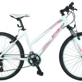 Bicicleta Mountain Bike Hardtail DHS Terrana 2624 - model 2015 26''-Alb